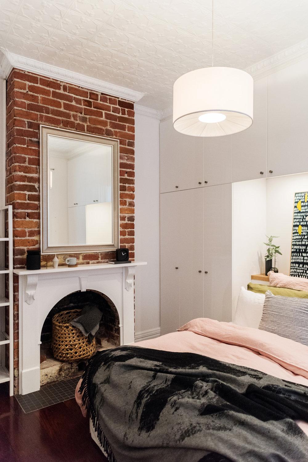 designer bedroom photograph
