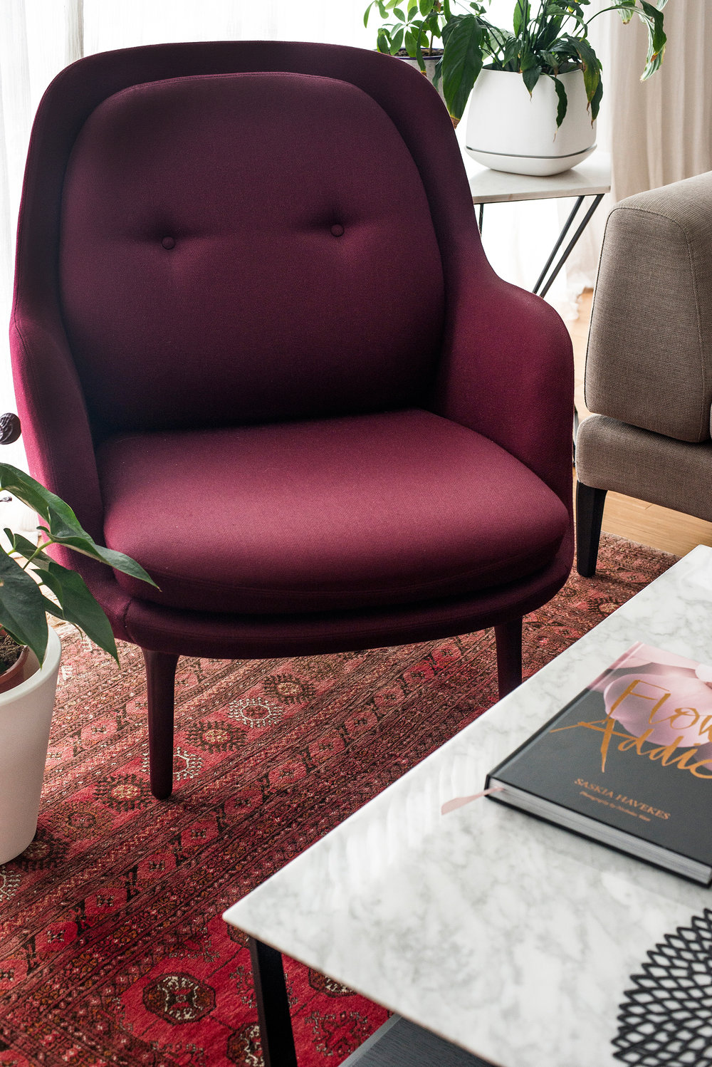 Furniture and styling photograph