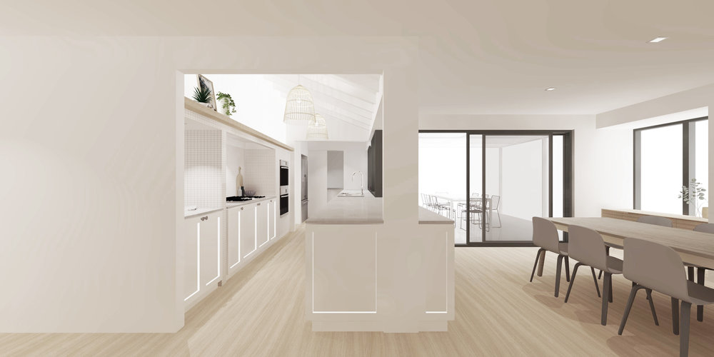 Kitchen sketchup design image