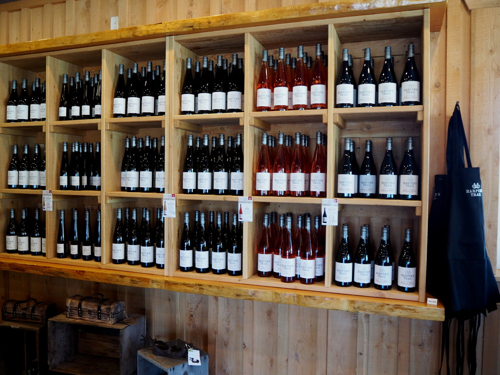Harper's Trail - inside cellar door