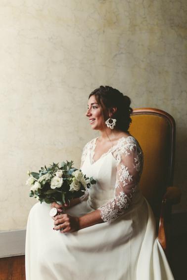 Mariée au Château de Césarges