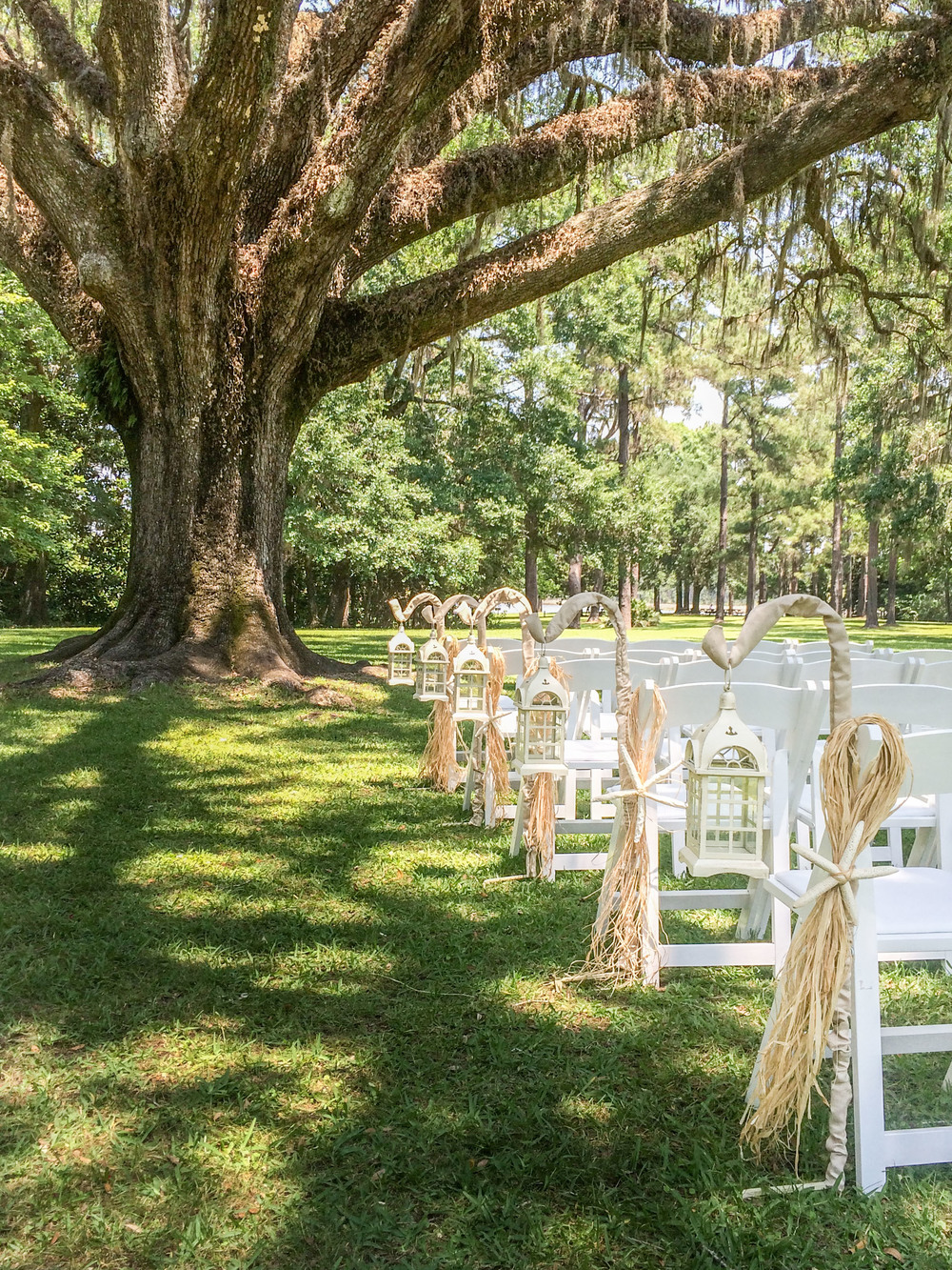 We've had the honor of performing many weddings at Eden Gardens State Park. Access is easy, parking and facilities are all first rate.  Receptions can be held there as well.