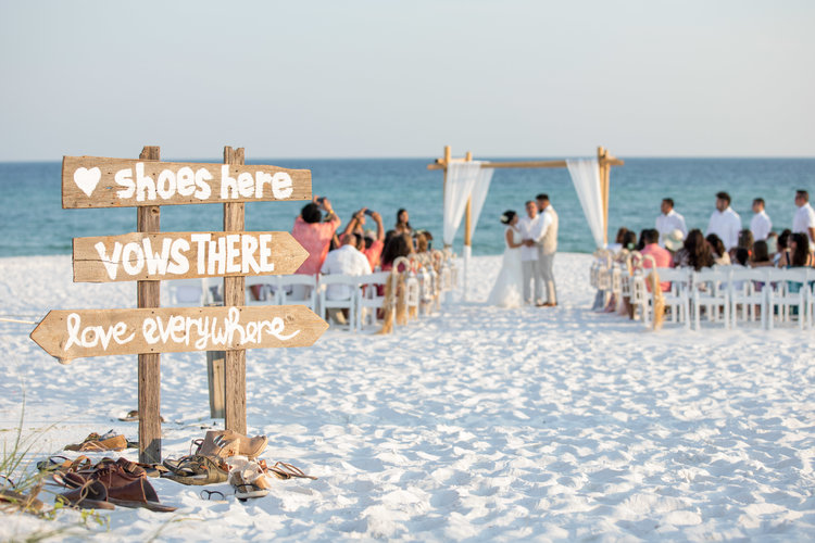 Navigate dropdown menu to the left destin beach wedding package picture59g junglespirit Image collections