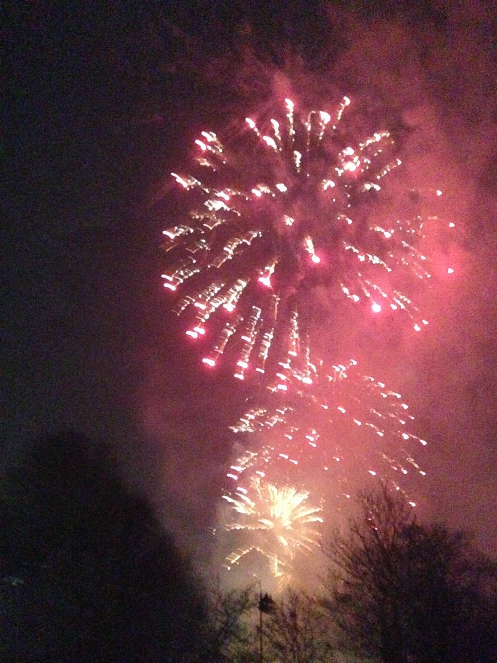 - Bedford pre-Christmas fireworks, November 2018