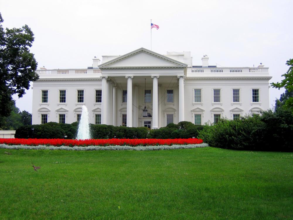 "Anne Fox, "" White House ,"" Flickr, CC BY 2.0 license ."