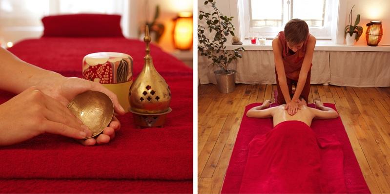 Un massage bien-être avec Marie au cabinet Résonance