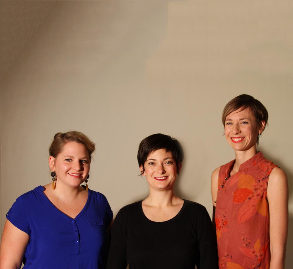 Les trois magiciennes du bien-être, Ingrid, Julie et Marie