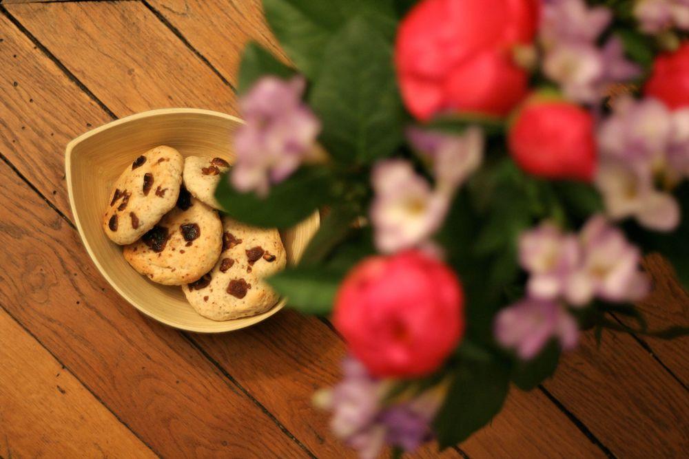 Ils sont pas bio mes cookies aux amandes?