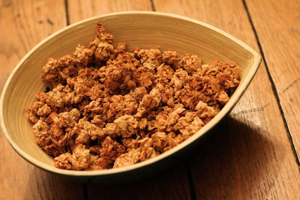 Un vrai granola maison qui croustille