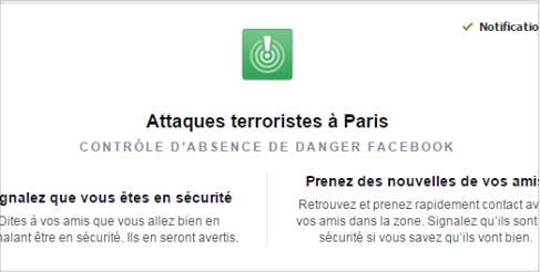 facebook attentats Paris