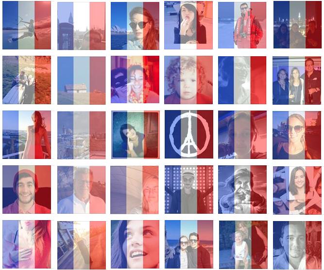 attentats Paris photo Facebook