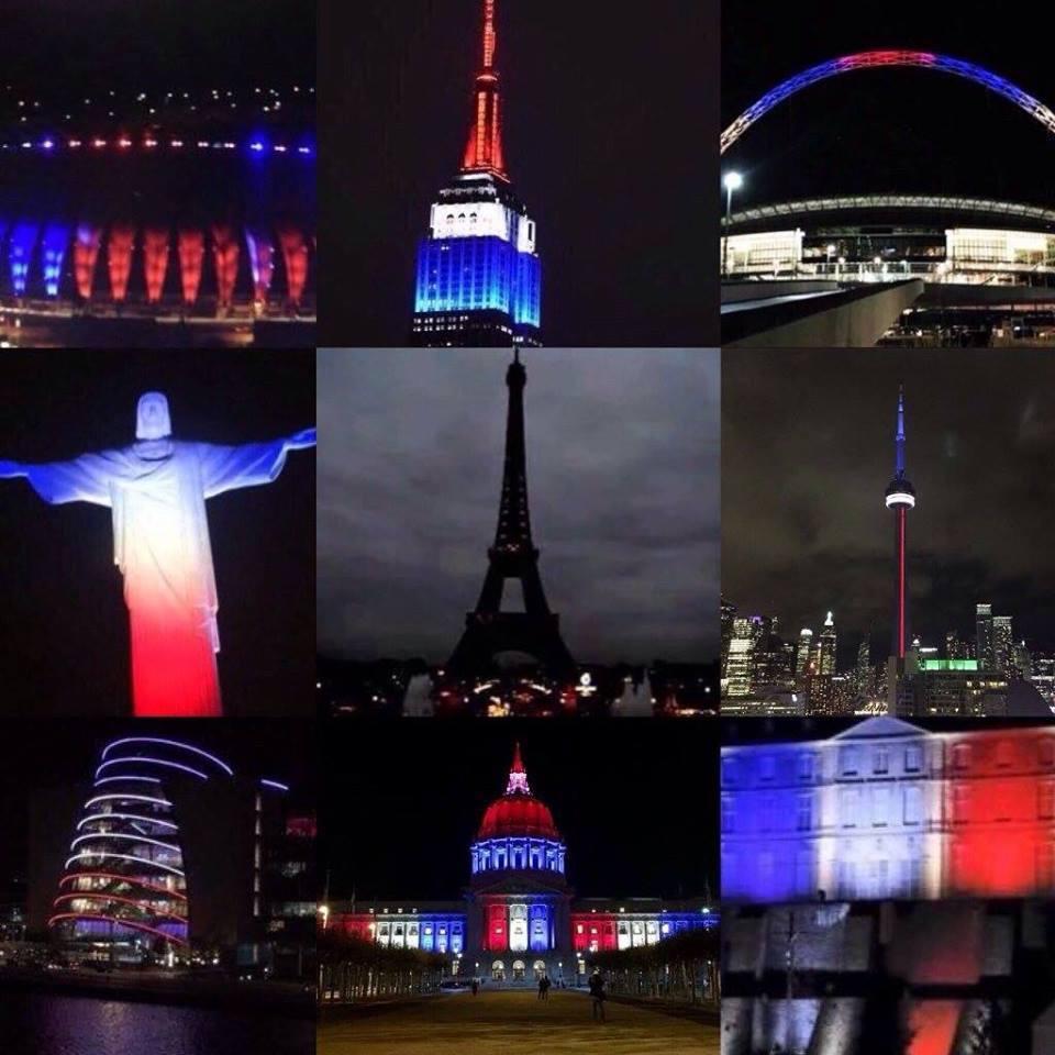 flag France world PrayforParis