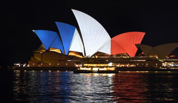 Sydney bleu blanc rouge