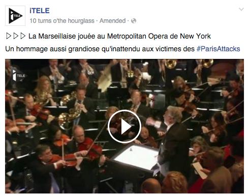 marseillaise NY opera Paris
