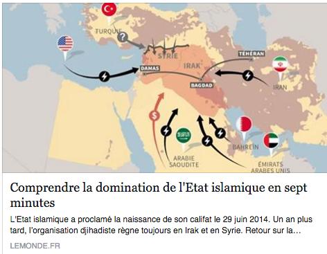 La domination de l'Etat Islamique