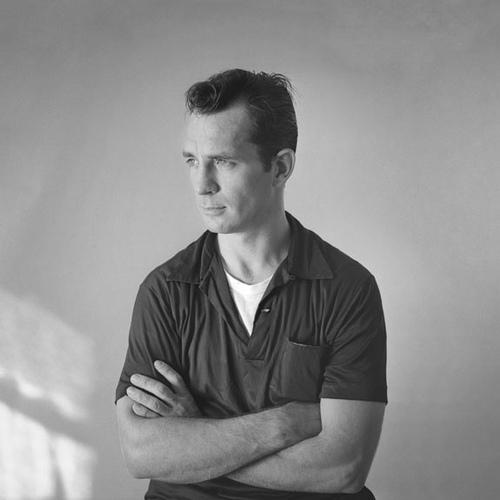 """Kerouac by Palumbo"" by Tom Palumbo from New York, NY, USA - Jack Kerouac. Licensed under Creative Commons Attribution-Share Alike 2.0 via  Wikimedia Commons"