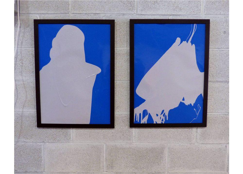 Untitled (framed) (x2)