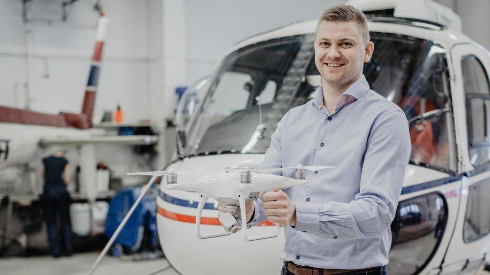 Pål Anders Kårstad er prosjektleder for vår nye satsing på droneteknologi. FOTO: Emil Rasmussen Fotografi