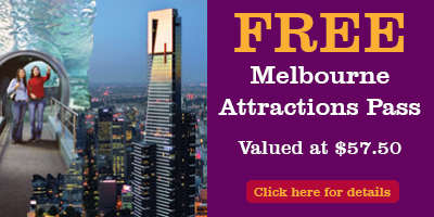 Book selected day tours with Bunyip Tours to receive a Free Melbourne Attractions Pass