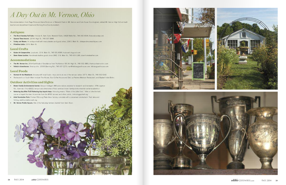Pages 28 & 29 in our fall 2014 issue.