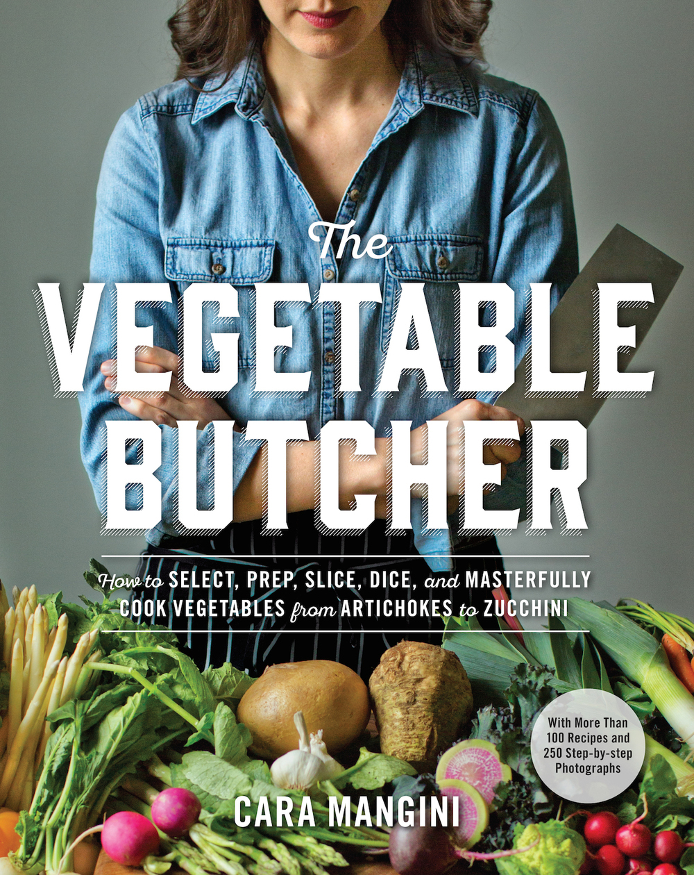 Cara Mangini's new cookbook, The Vegetable Butcher, releases April 19.