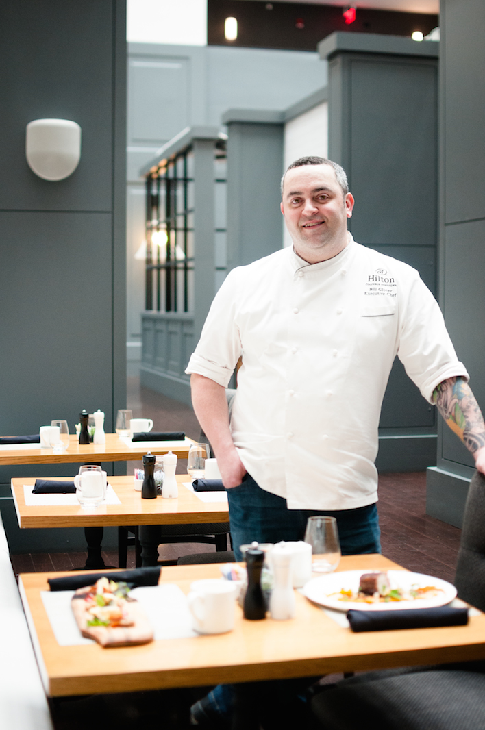 Bill Glover of Gallerie Bistro & Bar in the Hilton Columbus Downtown