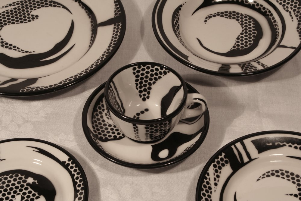 Pottery by Roy Lichtenstein, 1966
