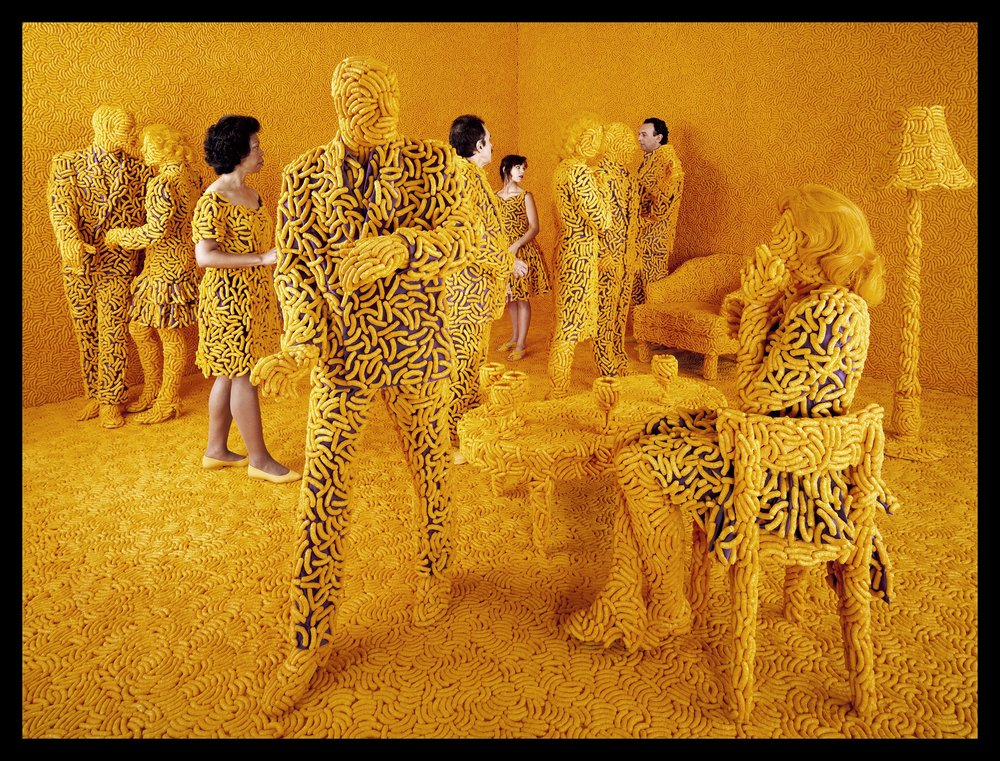 """The Cocktail Party,"" by Sandy Skoglund, 1992"