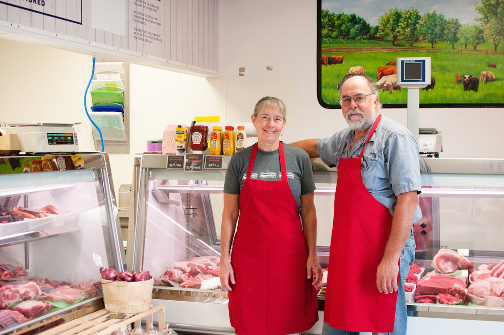 Cheryl and David Smith, co-owners of Bluescreek Meats