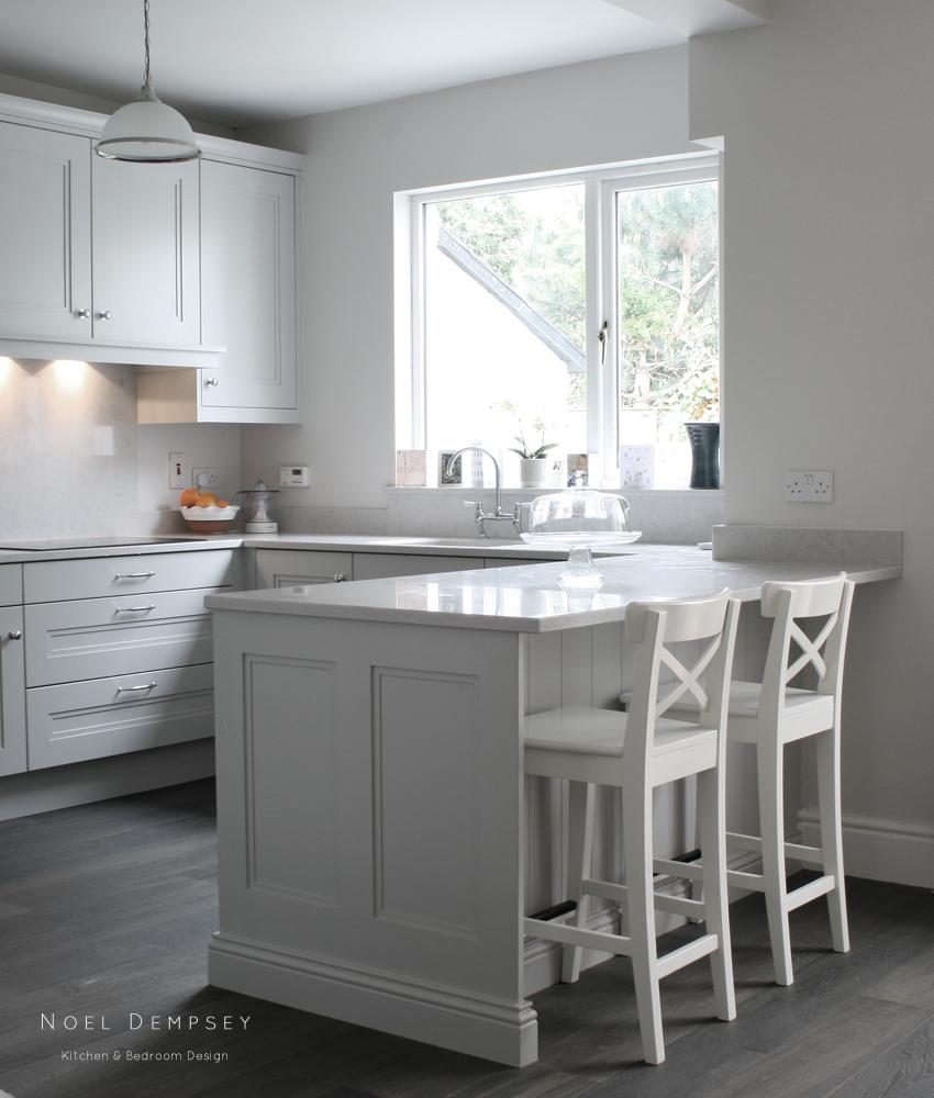 Hand Painted Kitchen Sandymount Road Dublin 4 Noel Dempsey Design
