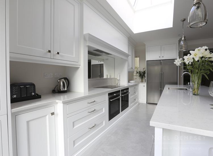 White kitchen Noel Dempsey