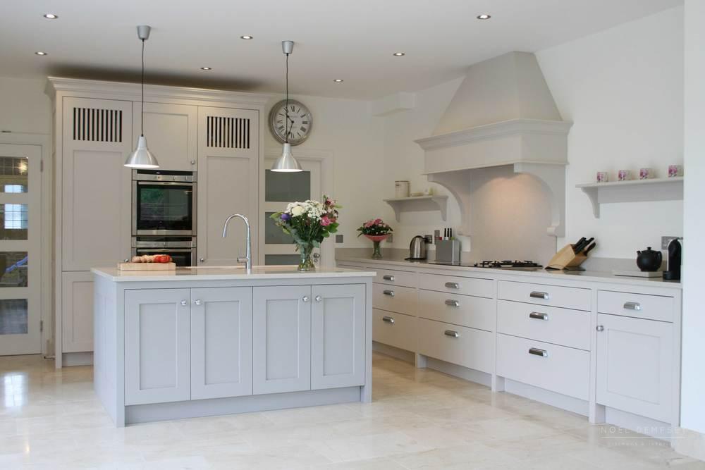 Sandymount Custom Painted Kitchen Design 1