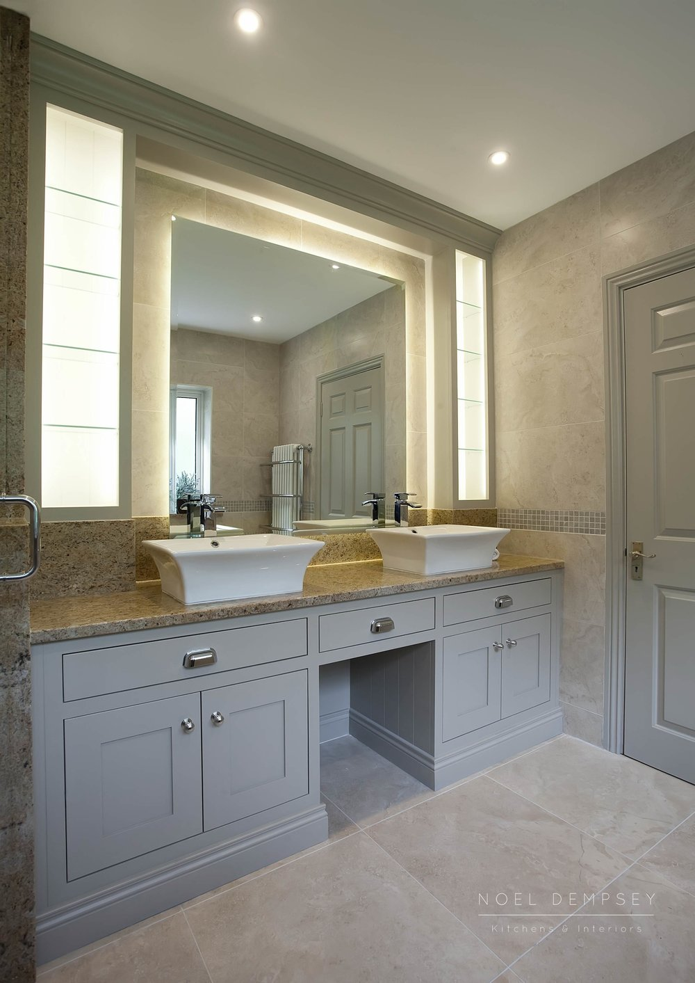Custom designed bathroom by Noel Dempsey
