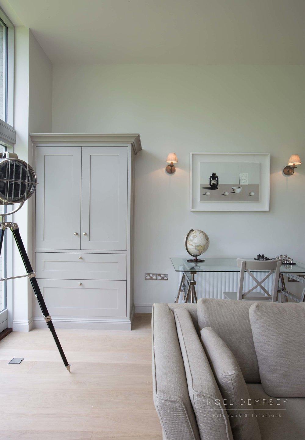 Custom studio design Noel Dempsey