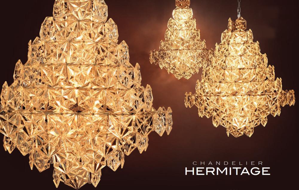 Bespoke hermitage chandelier