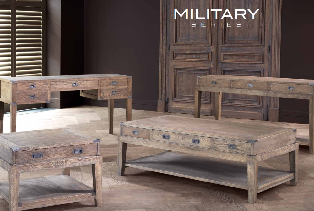 Military series custom table set
