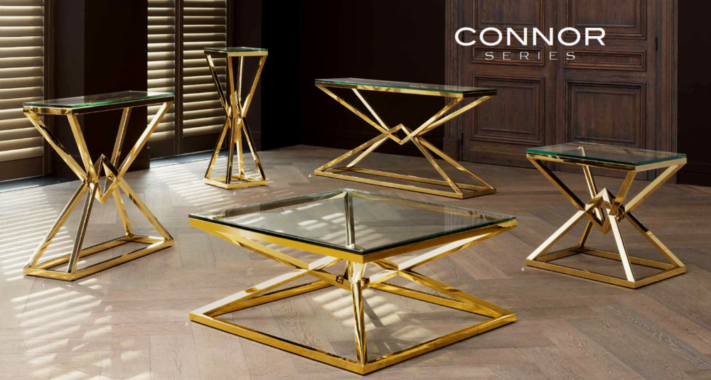 Glass tables design