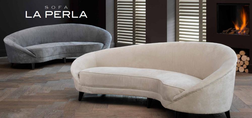 La Perla custom sofas
