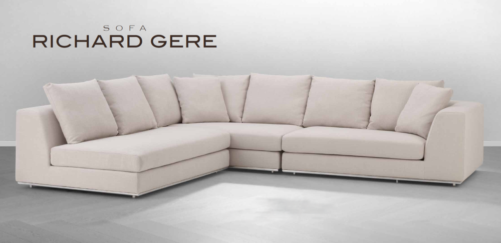 Richard Gere - Sofa design