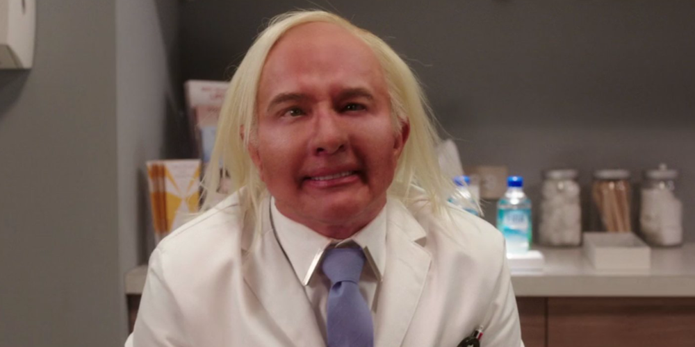 Adam's work on Martin Short for The Unbreakable Kimmy Schmidt