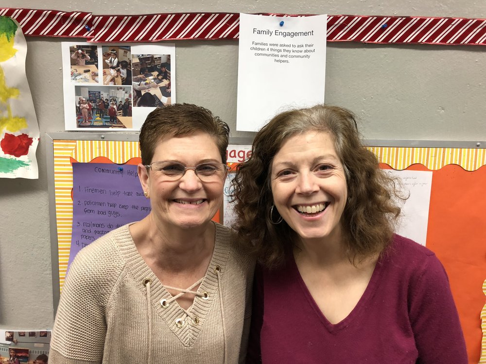 CLASSROOM #4   Ms. Denise Lojek and Ms. Shana Aborn