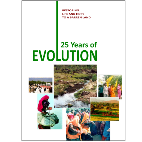 25 YEARS OF EVOLUTION   Publisher: Tarun Bharat Sangh  Restoring Life and Hope to a Barren Land  Click the image to download the PDF