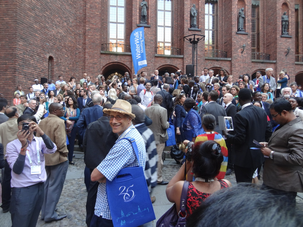 World Water Peace Walk - Stockholm