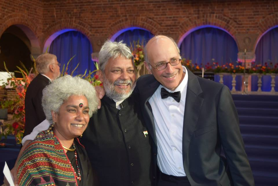 Flow Partnership members- Minni Jain, Rajendra Singh and Philip Franses