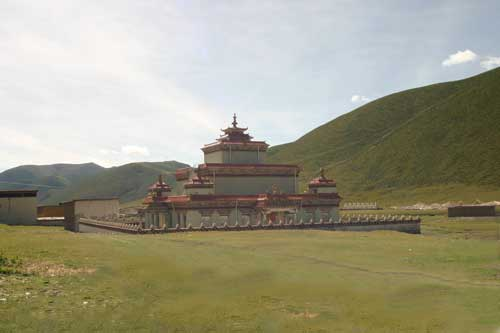The Temple at Pukang Monastery