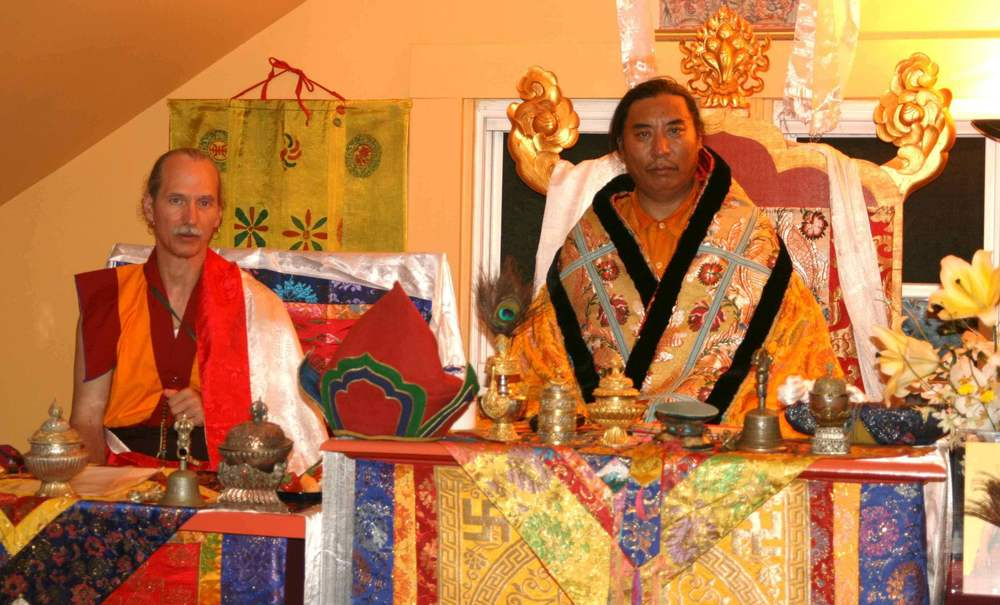 Lama Padma Karma and Patrul Rinpoche, USA 2007