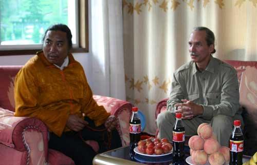 Patrul Rinpoche w/ Lama Padma Man Mtn