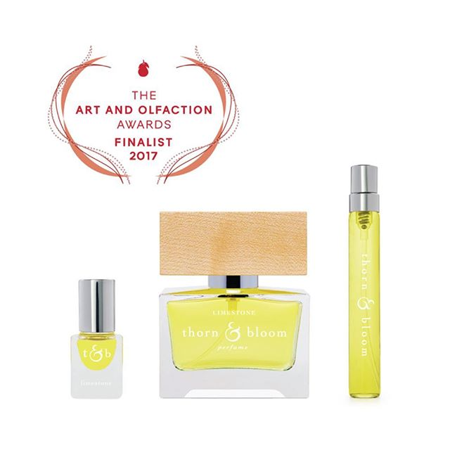We're so thrilled to be named a finalist for the second year in a row! We'll be attending the 2017 @artandolfaction awards in Berlin this May, hoping that our LIMESTONE EDP takes home the coveted Golden Pear!  #artandolfaction #artandolfactionawards #artandolfactionawardsfinalists #artandolfaction2017 #nicheperfume #artisanperfume #indieperfume #americanperfume #lime #stone #limestone #naturalperfume #botanicalperfume #organicperfume