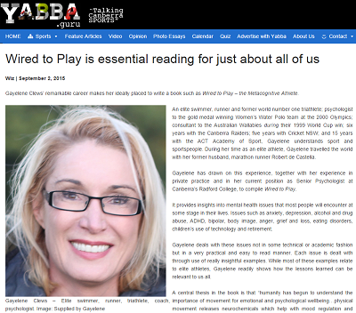 YABBA.GURU ARTICLE: 'Wired to Play is essential reading for just about all of us'