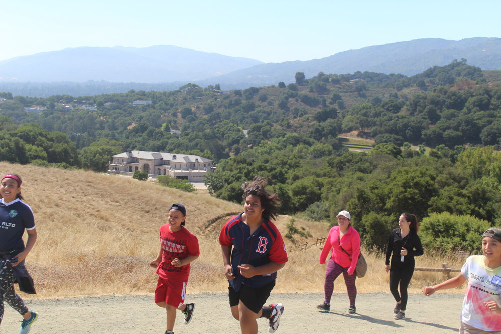 Field Trip - Students go on field trips every Friday during CREATE Academy. This Friday, students went hiking.